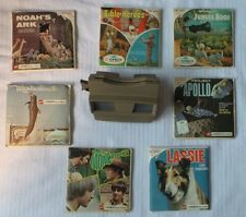 Sawyer's View Master & 7 Picture Packs Lassie Monkees Apollo  Jungle Book,+ more