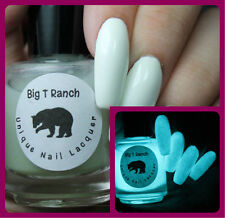 Glow-in-the-Dark Nail Polish Top Coat - Aqua - JUPITER - Nail Polish/Lacquer