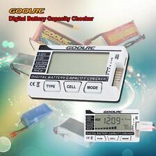 Smart Digital Battery Capacity Checker for LiPo LiFe Li-ion NiMH RC Battery US