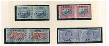 SOUTH WEST AFRICA SWA 1938 VOORTREKKER CENTENARY FUND BILINGUAL PAIRS MNH
