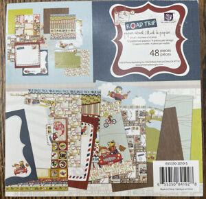 "Prima ""Road Trip"" 6""x6"" Scrapbook Paper Pad"