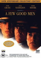 A Few Good Men DVD TOP 1000 MOVIES Tom Cruise Demi Moore BRAND NEW SEALED R4