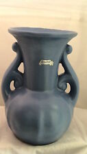 """RUMRILL DOUBLE HANDLED BLUE BASE MADE IN U.S.A.  WITH LABEL 9"""" TALL **"""