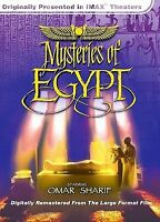 Imax Mysteries of Egypt DVD NEW!!