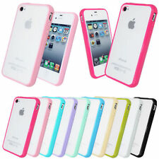 2xFREE GIFTS BUMPER HARD BACK GEL SILICONE CASE FOR iPHONE 5 5S COVER