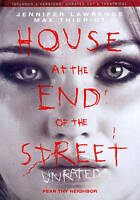 House at the End of the Street (2013 DVD) Unrated & Theatrical Version New!!