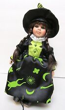 """Seymour Mann Doll """"Witch"""" Connoisseur Collection 13"""" Girl w Hat - Beautiful!"""