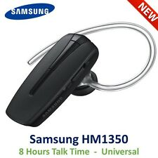 Samsung HM1350 Universal Bluetooth Headset Hands Free Black NEW