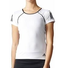 Adidas womens medium club tee black/white NWT
