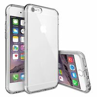 Transparent Clear Silicone Protective Gel Clear Case Cover For Apple iPhone