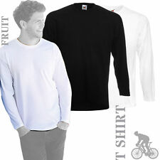 Crew Neck Patternless Long Sleeve Tops & Shirts for Women