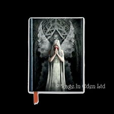 ONLY LOVE REMAINS Anne Stokes Embossed Foiled Hardback Lined Pocket Journal (A6)