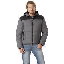Men's Outdoor Spirit Marled Puffer Jacket Big/Tall Gray 4XL #NKXDQ-1194
