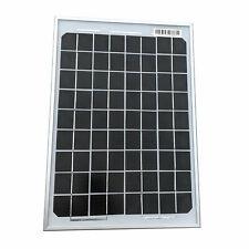 10W Solar Panel Monocrystalline Aluminum Frame