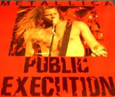 Metallica Public Execution Rare CD