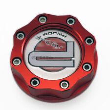 Red PWJDM Car Racing Engine Oil Fuel Filler Filter Tank Cap Cover Plug For Honda