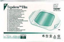 15 x Tegaderm Film Dressings Ref. 1624W. 6cm x 7cm. Medical & Tattoo Dressing UK