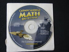 Carmen Sandiego Math Detective [Cd Rom]