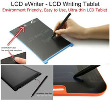 "8.5"" inch LCD e-Writer Tablet Writing Drawing Memo Message Black Boogie Board UK"