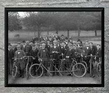 "Brilliant ... Antique 3 Seater Bicycle  ... Vintage 8"" x 10"" Photo Print"