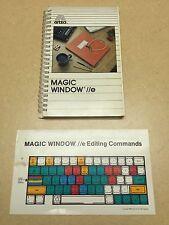 "1984 First Edition ""Magic Window IIe User Manual"" W.H. Depew Apple II 2 Computer"