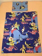 Disney CTI Parure Aladdin housse de couette + taie d'oreiller pour lit de bébé