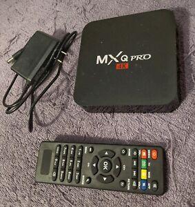 MXQ Pro 4K Smart TV Box - Black
