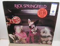 Rick Springfield  - Success Hasn't Spoiled Me -  LP Record - NM Shrink