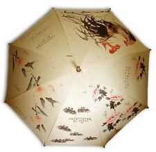 Traditional imagine animal painting long auto umbrella 1