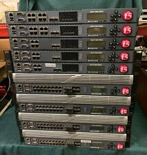 mix lot of 9 units F5 Networks BIG-IP 6900 Series Manager 1600 series 3600 switc
