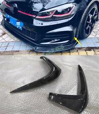 For VW Golf GTI MK7.5 2018-2020 Carbon fibre Front Fog Lamp Eyelid Strip Cover