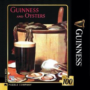 Guinness Adverts guinness and Oysters 100 Piece Mini Puzzle 229mm x 178mm (nyp)