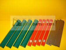 Wear Slides for Extending Dipper for a JCB 3CX 4CX 8 PCS SET - JCB PARTS 3CX