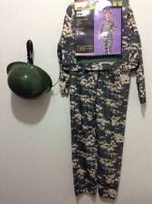 NEW  Cosplay Boys Girls SOLDIER Costume SMALL.   Digital Camo