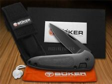BOKER TREE BRAND Black Aluminum Top Lock 2 Law Enforcement Pocket Knives Knife
