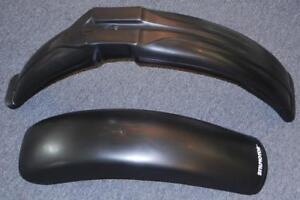 Universal plastic fender set Dual Sport MX StilMotor SXP A203 A123 BLACK-NO LITE