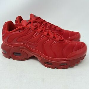 Nike Air Max Plus GS Size 6Y Womens 7.5 Red Sneaker Running Shoes DM8877-600