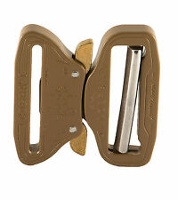 "AustriAlpin 50mm 2"" Coyote Brown Cobra Buckle - Male Adjust + XL Clips - FC50CVF"