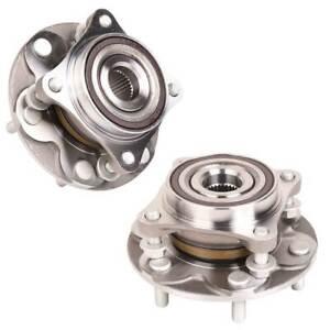 2PCS Front Wheel Bearing Hubs ABS fit for Toyota Landcruiser Prado 120 Series