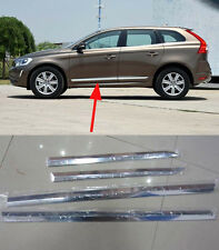 Body Door Sill Side Molding cover trim for 2014 2015 Volvo XC60 ABS