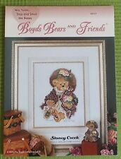 Stoney Creek Boyds Bears BB 007 - Mrs. Tuttle...Stop and Smell the Roses - NEU