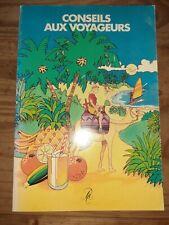 livret de conseil aux voyageurs 1976