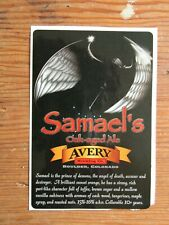 Avery Brewing Co. Bottle Label Sticker ~New! Craft Beer Brewery Decal~