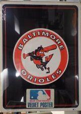 Baltimore Orioles MLB Velvet Poster 1981 Starline Novelties NOS 23x18