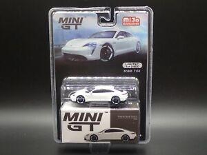 2021 MINI GT PORSCHE TAYCAN TURBO S MIJO EXCLUSIVE #218 LIMITED 1 OF 2400 1:64