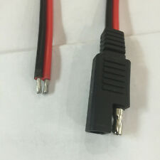 Red Black Battery Tender SAE DC Power Automotive DIY  Connector  Cable  2x0.75mm
