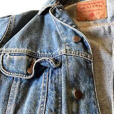 RICA LEWIS jacket giacca giubbino donna strass usato blu tg M vintage