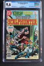 Weird Western Tales #39 ORIGIN 1st SCALPHUNTER 1977 Kiowa Fleisher Lopez CGC 9.6