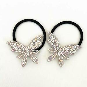 Rhinestone Butterfly Hair Bands