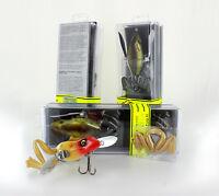 River2Sea Wood'n Waddle Frog 85, metal wings, best quality bait, fishing lures